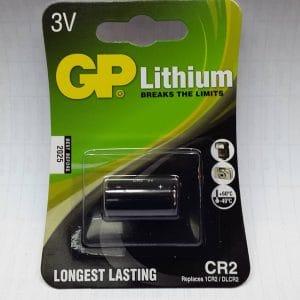 3 volt batterij van GP